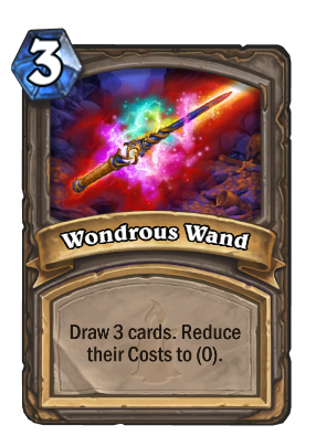 Wondrous Wand Card Image