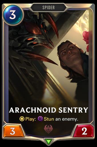 Arachnoid Sentry Card Image