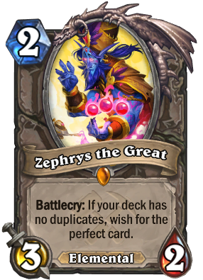 Zephrys the Great Card Image