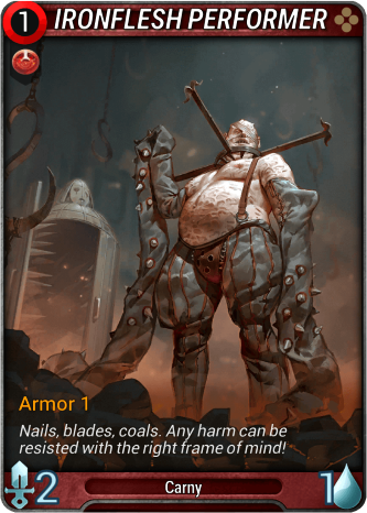 Ironflesh Performer Card Image