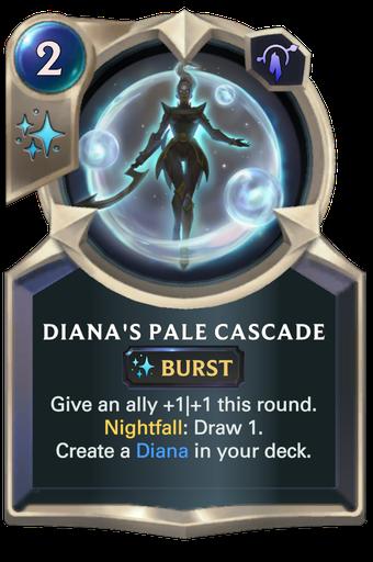 Diana's Pale Cascade Card Image