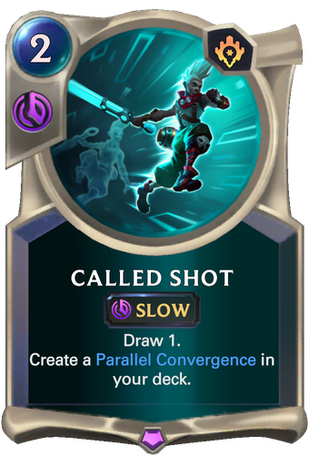 Called Shot Card Image