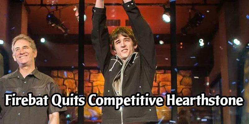 Firebat, Hearthstone's First World Champion, Quits Competitive Hearthstone
