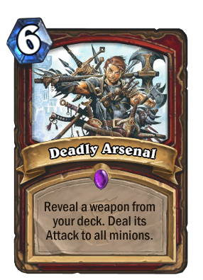 Deadly Arsenal Card Image