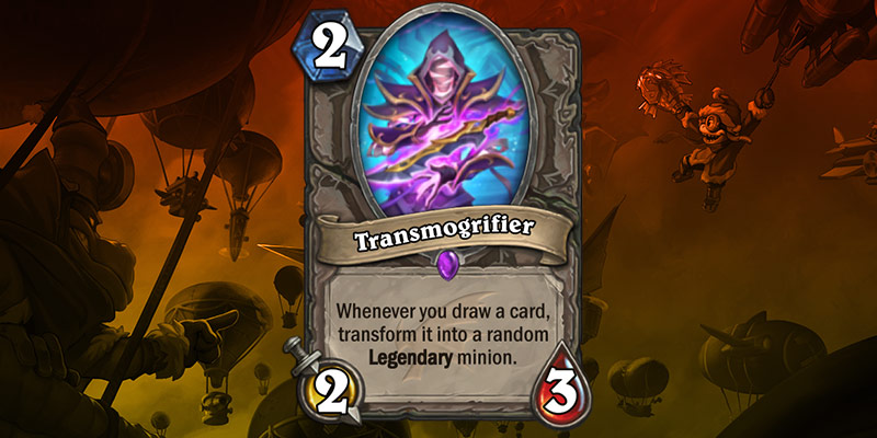 New Card Reveal - Transmogrifier