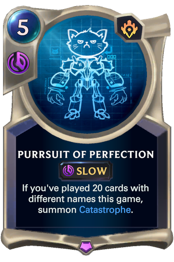 Purrsuit of Perfection Card Image