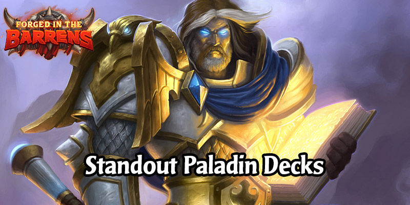 Early Standout Paladin Decks in Forged in the Barrens - Play Something New