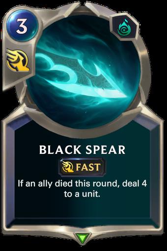Black Spear Card Image