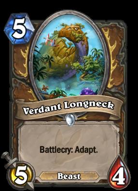 Verdant Longneck Card Image