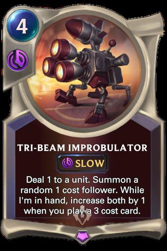 Tri-beam Improbulator Card Image
