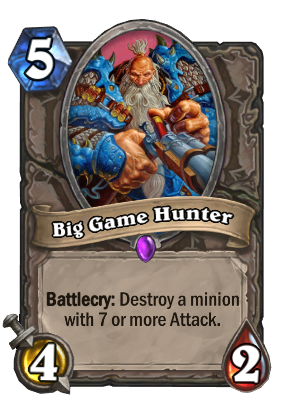 Big Game Hunter Card Image