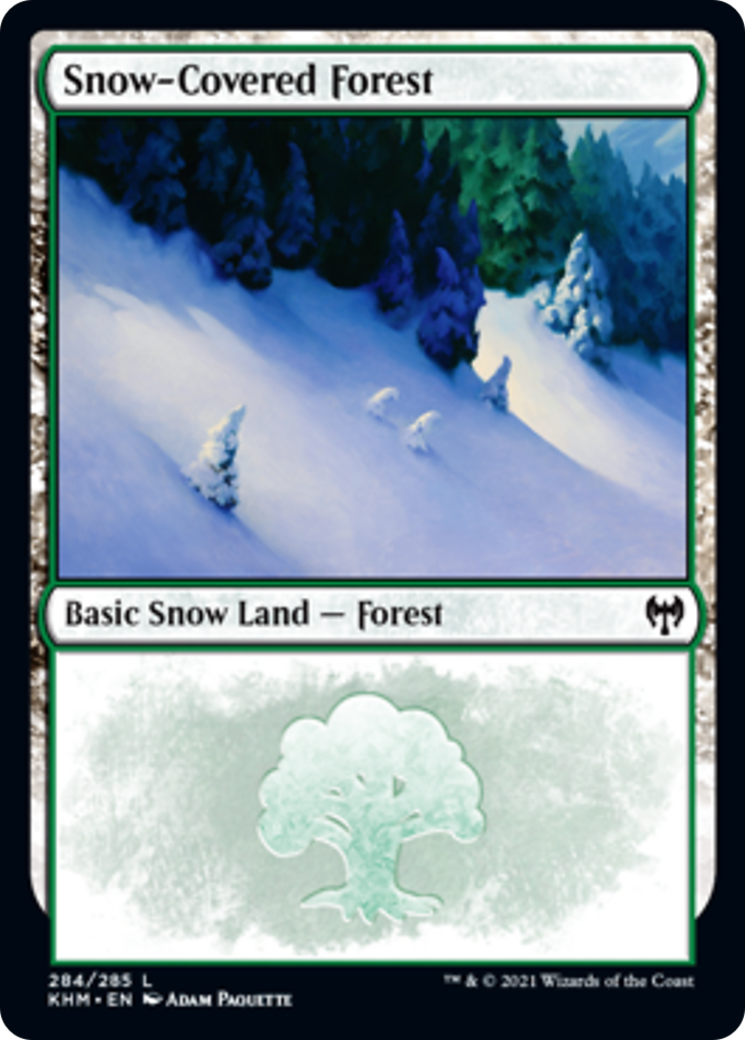 Snow-Covered Forest Card Image
