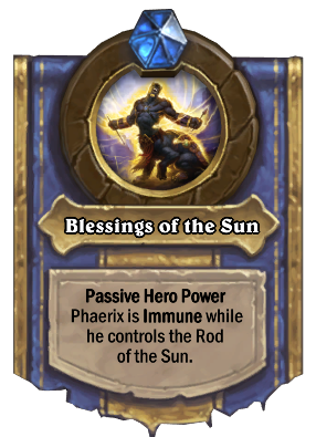 Blessings of the Sun Card Image