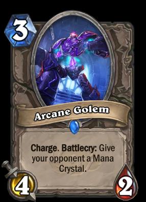 Arcane Golem Card Image