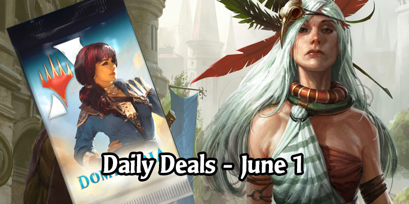 The Deals are Historic Today in MTG Arena - 30% Off A Dominaria Pack, 75% Select Card Styles
