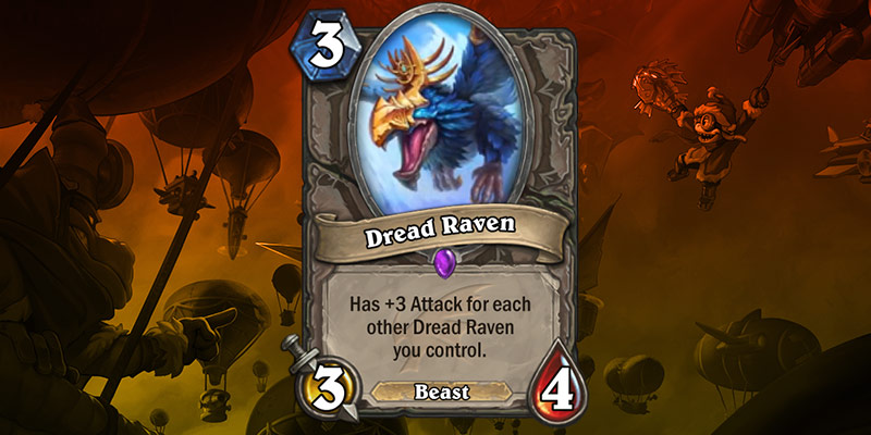 Epic Card Reveal - Dread Raven