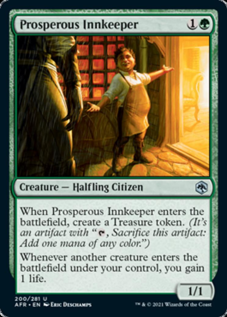 Prosperous Innkeeper Card Image