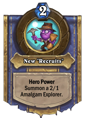 """New """"Recruits"""" Card Image"""