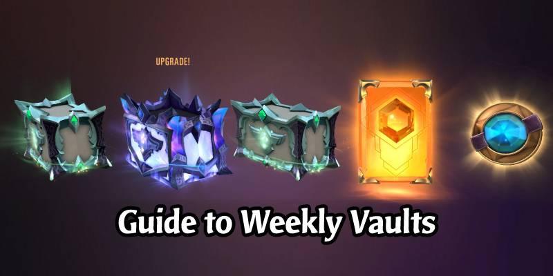 How Weekly Vaults Rewards Work in Legends of Runeterra