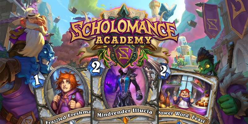 Our Thoughts on Hearthstone's Scholomance Academy Priest Cards