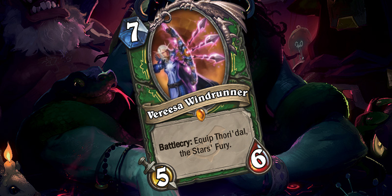Hunter Legendary Reveal - Vereesa Windrunner