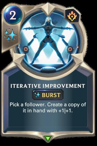 Iterative Improvement Card Image