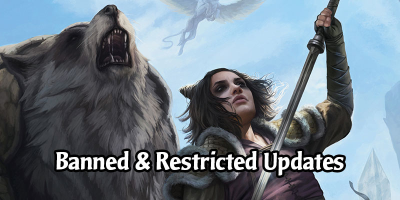 Magic's Banned & Restricted List Gets an Update - Drannith Magistrate & Winota, Joiner of Forces Banned in Brawl