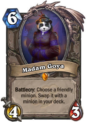 Madam Goya Card Image