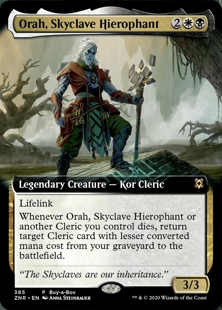Orah, Skyclave Hierophant Card Image