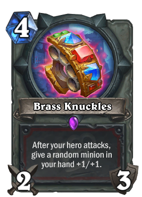 Brass Knuckles Card Image