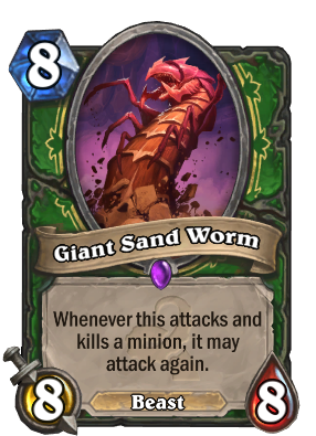 Giant Sand Worm Card Image