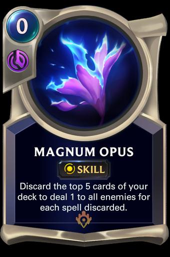 Magnum Opus Card Image