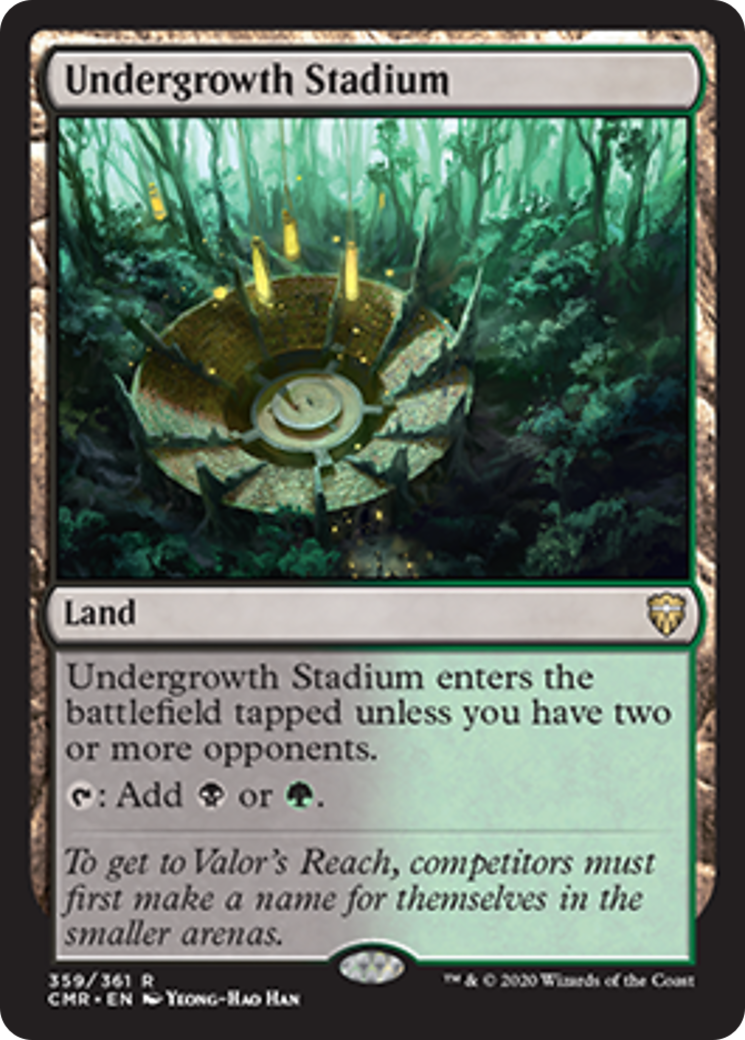 Undergrowth Stadium Card Image