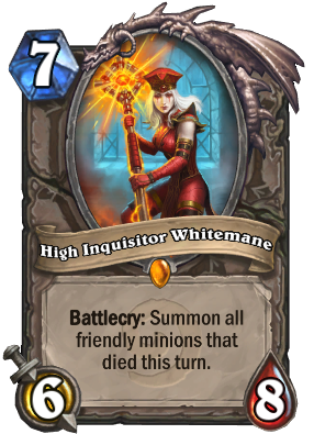 High Inquisitor Whitemane Card Image