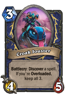 Croak Jouster Card Image
