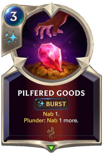 Pilfered Goods Card Image