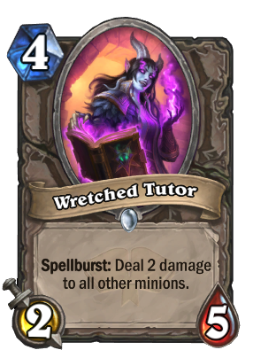 Wretched Tutor Card Image