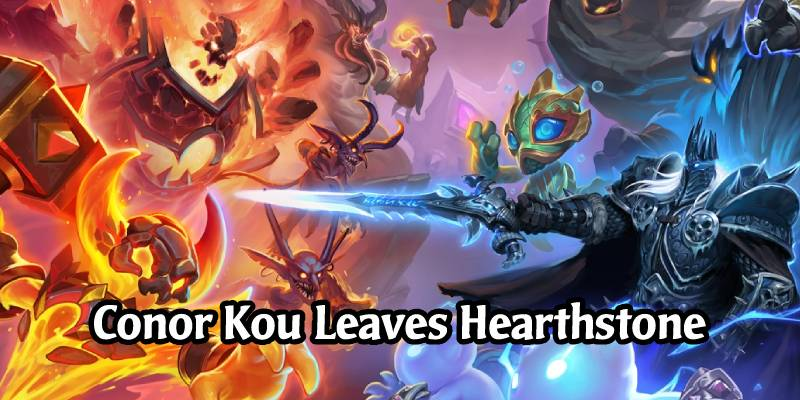 Conor Kou Has Departed the Hearthstone Team and Battlegrounds, Remains at Blizzard