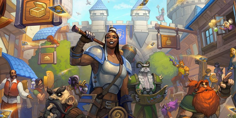 Hearthstone Patch 20.8 - United in Stormwind Pre-Order, Free Legendary Card, New Battlegrounds Content, and More!