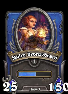 Moira Bronzebeard Card Image