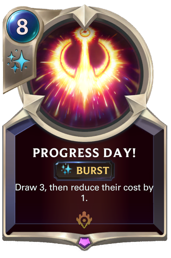 Progress Day! Card Image