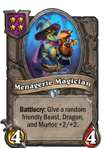 Menagerie Magician Card Image