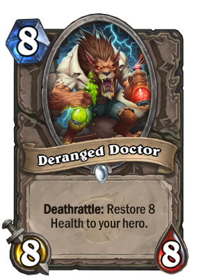 Deranged Doctor Card Image