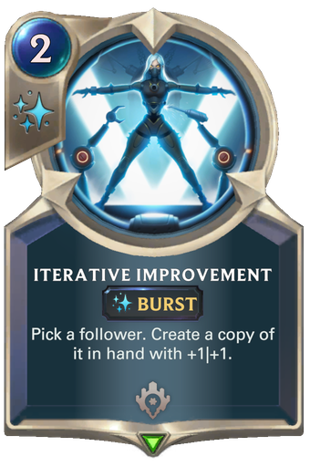 Iterative Improvement Card Image