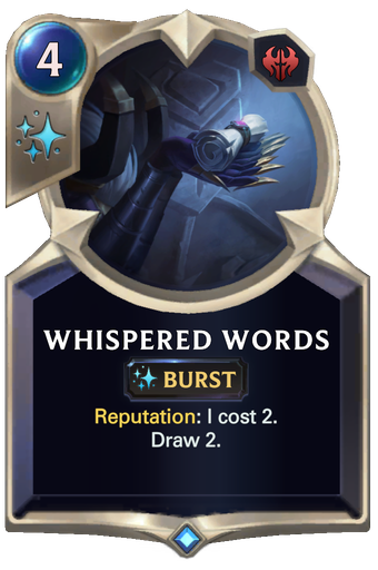 Whispered Words Card Image