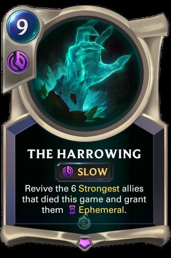 The Harrowing Card Image