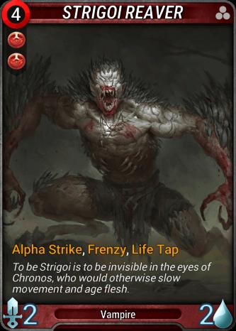 Strigoi Reaver Card Image