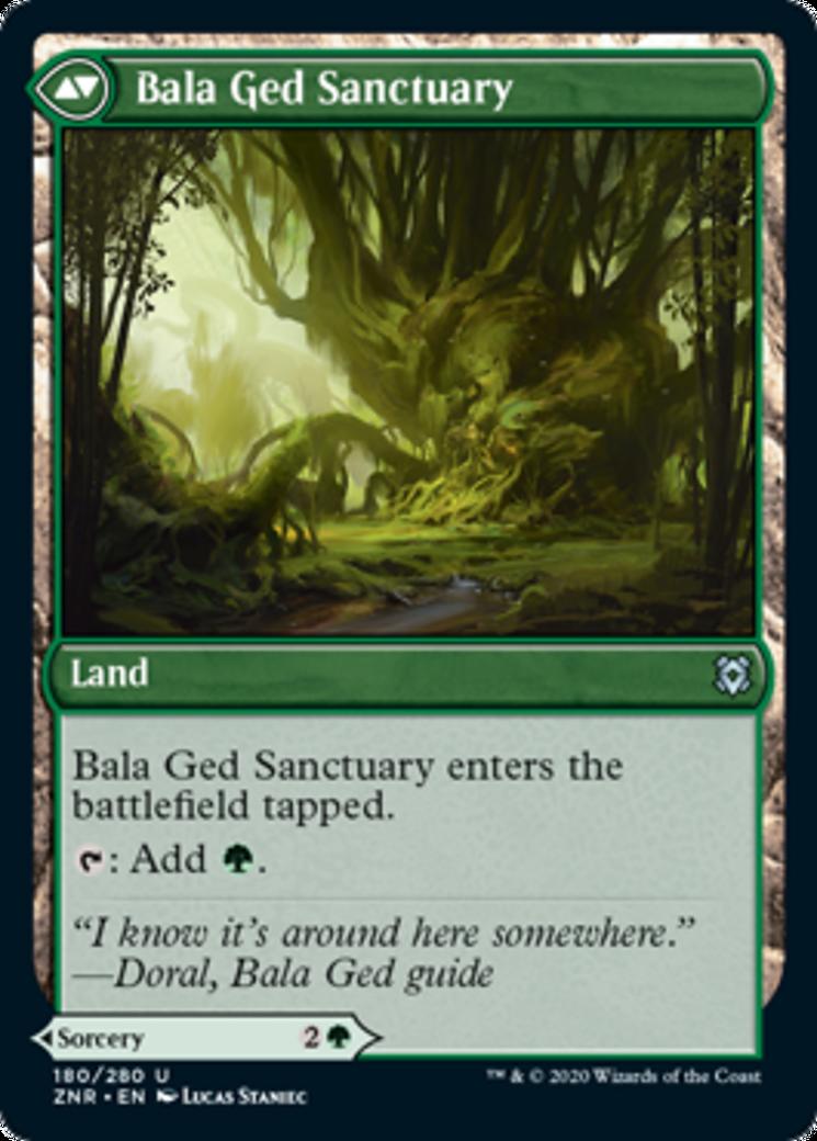 Bala Ged Recovery // Bala Ged Sanctuary Card Image