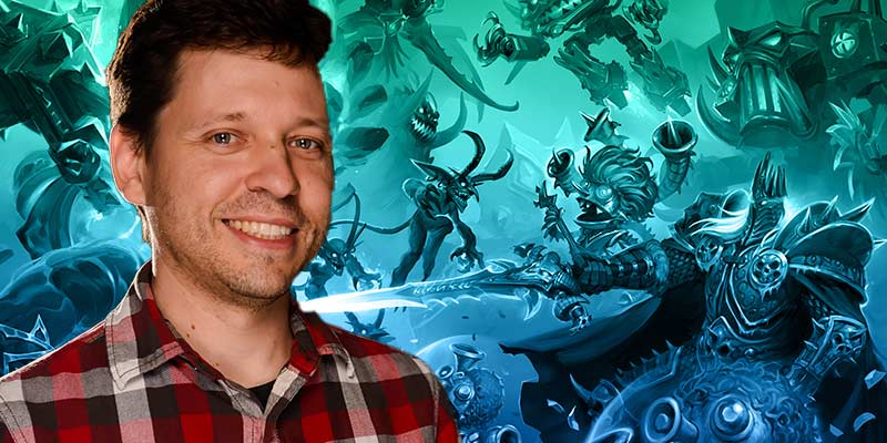 Mike Donais Talks Battlegrounds - Lich Baz'hial, MMR, Blog Coming this Week