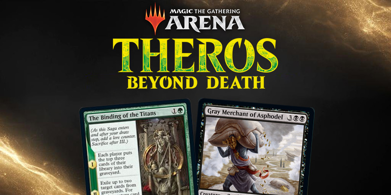 MTG Arena - Theros: Beyond Death Card Spoilers December 26